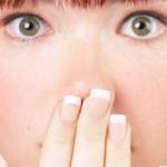 Mund und Nase zu bei Erkältung