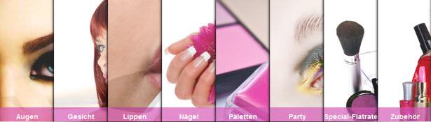 Make-up bei Kosmetik-Flatrate