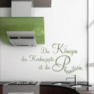 Wandtattoos Sprüche für die Küche