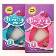DivaCup Menstruationstasse Größen