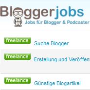 Geld verdienen mit Bloggerjobs