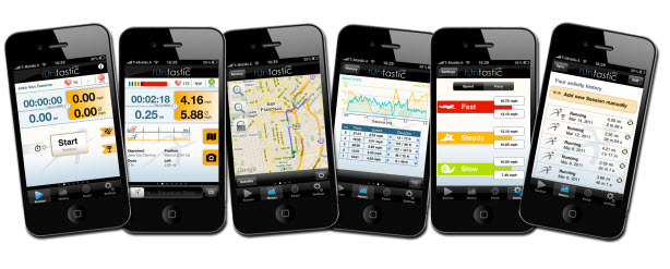 runtastic PRO GPS Coach für iPhone + Android