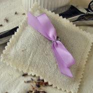Fertig ist die selbst genähte Lavendel Tasche