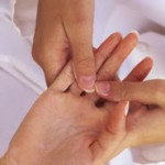 Lavendel Hand und Fuß Spülung