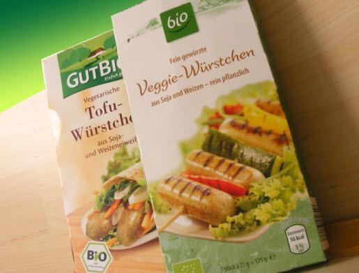 Aldi vegetarische Würstchen