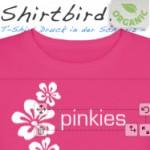 Organische T-Shirts zum selber gestalten