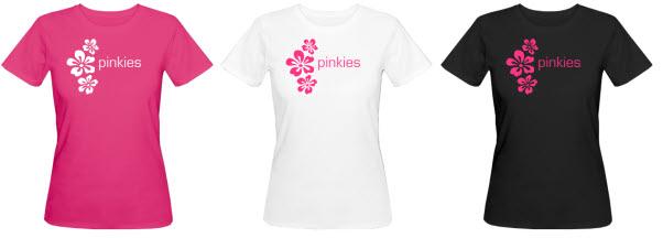 Organische T-Shirts pinkies