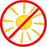 Kein Sonnenlicht
