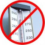 Keine Temperaturschwankungen