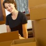 Waren verkaufen und Pakete versenden