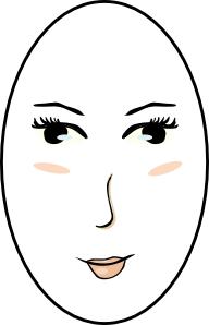 Gesichtsform lang