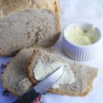 Selbstgemachte Butter aus Schlagsahne