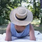 Sommerzeit, Gartenzeit. Auch an den Rücken denken