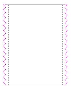 Lavendeltasche Muster
