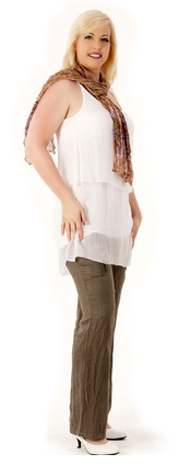 Fließende Hosen - feminin und elegant