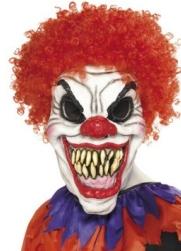Fasching Zombie Clown Maske