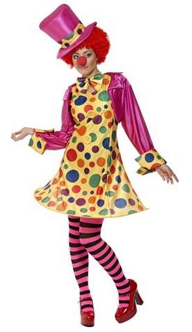 Fasching Clown Kostüm