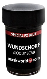 Blut-Wundschorf Make-up