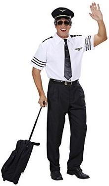 Fasching Pilotenkostüm
