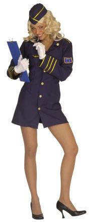 Fasching Stewardess