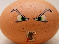 Teuflisch ungesundes Ei