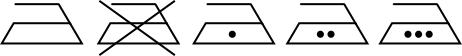 Pflegesymbol - Bügeleisensymbol