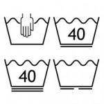 Pflege- und Waschsymbole in Überblick