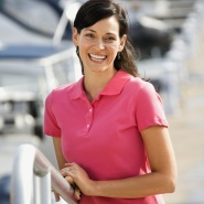 Berufsbekleidung in Frauengrößen
