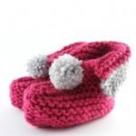 Baby-Schuhe Strickanleitung getestet