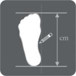 Die richtige Schuhgröße