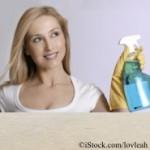 Fitness zu Hause: Putzen brennt Kalorien
