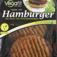 Vegafit: Vegan wie Hamburger