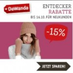 15% Entdecker Rabatt für DaWanda Neukunden
