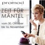 Promod spendiert euch 15 Euro Rabatt auf Mäntel