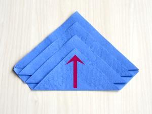 4 basis servietten falten leicht und schnell pinkies. Black Bedroom Furniture Sets. Home Design Ideas