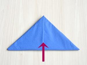 serviettenfalten-pyramid-falten1