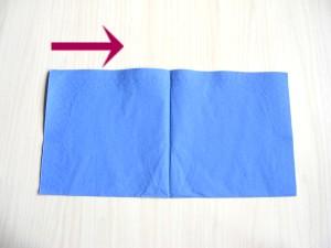 serviettenfalten-viertel