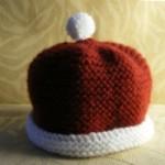 Strickanleitung: Baby-Santa-Mütze