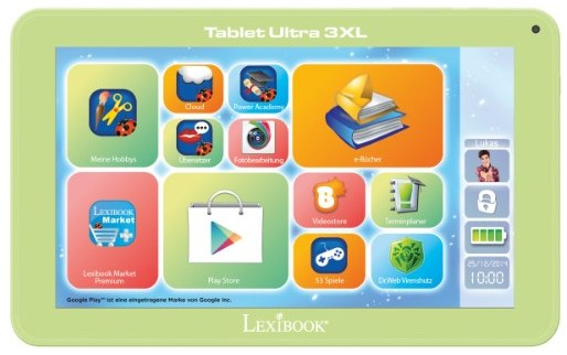Kinder Tablet Lexibook Ultra 3XL von myToys