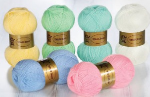 Schmuse Garn Wolle für Babys und Kinder