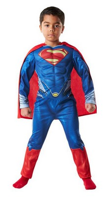 Fasching Superman Kinderkostüm