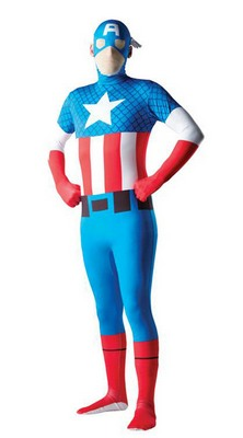 Kostüm Captain America 2nd Skin