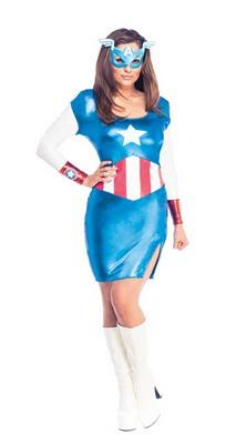 Faschingskostüm - Avengers Miss America