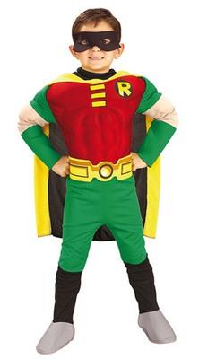 Faschingskostüm Robin Superheld für Kinder