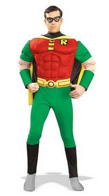 Faschingskostüm Robin Superheld