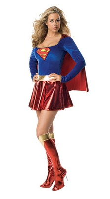 Supergirl Damenkostuem