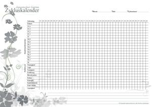 Zykluskalender Japanischer Garten Storm