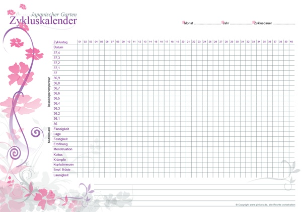 Zykluskalender Japanische Garten v2