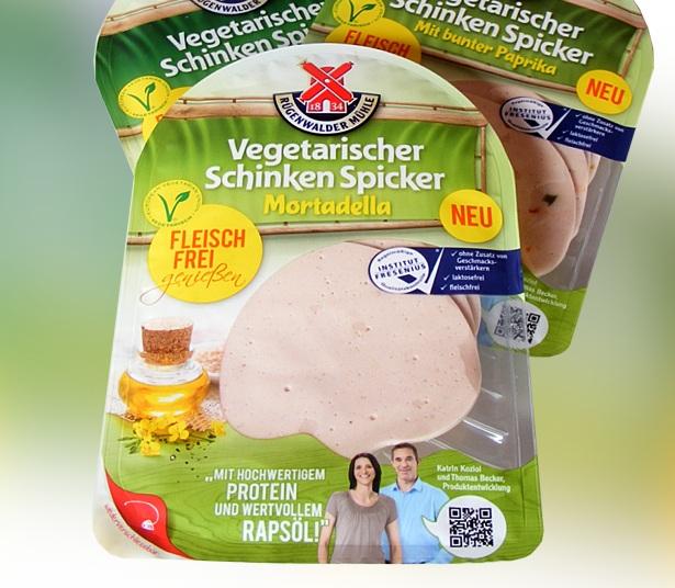 Rügenwalder vegetarischer Wurst - Mortadella