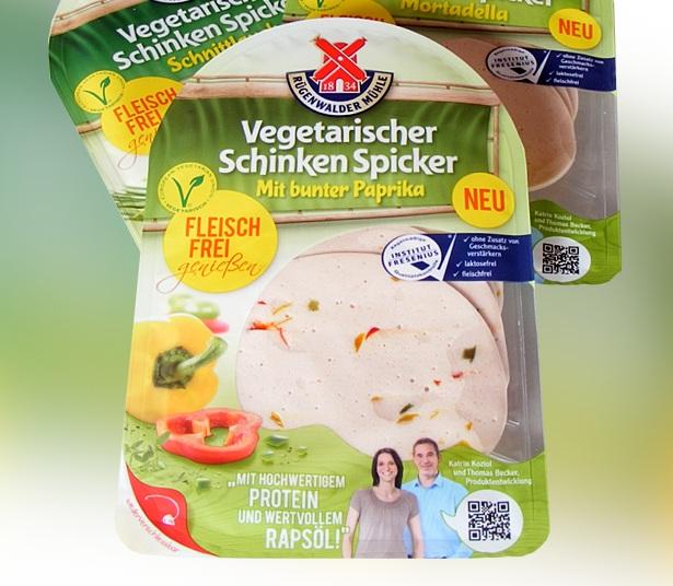 Rügenwalder vegetarischer Schinken Spicker - Paprika